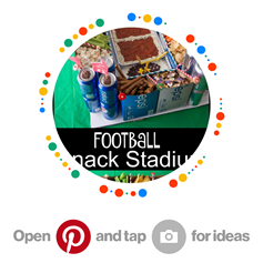 Football mystery party ideas for food and decor